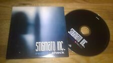 CD Indie Stigmato Inc. - Reality Check (11 Song) Promo SONIDO DENSO cb