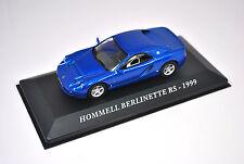 Voiture modèle réduit collection 1/43ème Hommell Berlinette RS de 1999