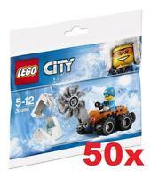 LEGO® 50x CITY - Arktis Eissäge 30360 - POLYBAG NEU / OVP