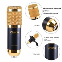BM-800 Condenser Microphone Mic Studio Sound Recording Dynamic & Shock Mount