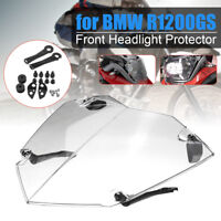 Clear Front Headlight Guard Cover Lens Protector Fits BMW R1200GS ADV WC