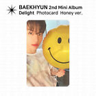 EXO Baekhyun 2nd Mini Album Delight Official Photocard Photo Card KPOP K-POP