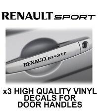 RENAULT SPORT Door Handle Vinyl Decals Stickers Clio TDI