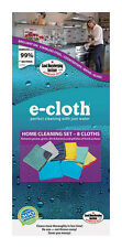 NEW! E-CLOTH Home Cleaning Polyester / Polyamide Cleaning Cloth 8-Pack! 10903