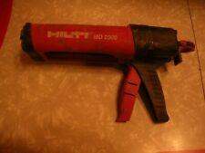 Hilti Md 2000 Epoxy Gun Made in Switzerland Numbered 05 07