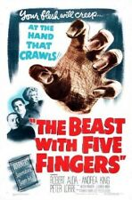 THE BEAST WITH FIVE FINGERS - 1946 - HORROR MOVIE - DVD.