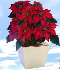 Large Poinsettia Gift Box - Wrapping as unique as your Present!