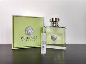 Versace Versense 2ml Sample Decant Eau the Toilette Fragrance Fresh Women