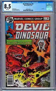 Devil Dinosaur #9 CGC 8.5 (Dec 1978, Marvel) Jack Kirby.  Last Issue in Series.