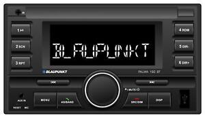 Blaupunkt Palma 190 BT Doppel-DIN MP3-Autoradio Bluetooth USB AUX-IN