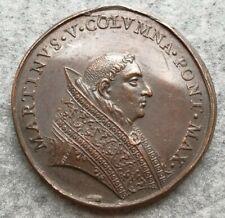 Medaglia Vaticano Martinus Martino V 1417 Roma Anno Primo 41mm 42,85gr