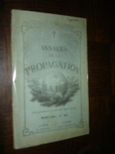 ANNALES DE LA PROPAGATION DE LA FOI - Mars 1894 N°393 - Missions