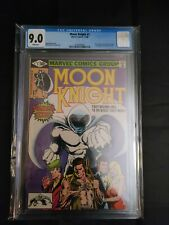 Moon Knight # 1 CGC 9.0 White Pages 1st solo series Disney+