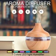 LED Ultrasonic Essential Oil Aroma Diffuser Aromatherapy Humidifier Air Purifier