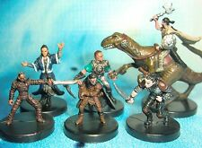 Dungeons & Dragons Miniatures Lot  Gnome Halfling Player Characters !!  s112