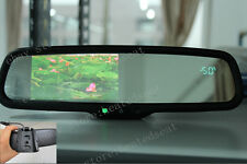 "Rearview mirror 4.3""LCD display,fits Ford,GM,Toyota,Nissan, compass+temperature"