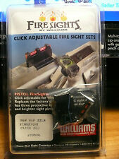 WILLIAMS GUN SIGHTS FOR S&W M&P 22 ONLY CLICK ADJ NEW IN PACKAGE #70986