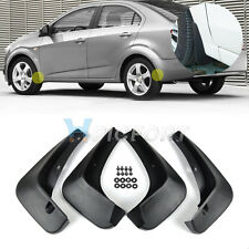 Splash Guards Mud Flap Mudguard Kit for Chevrolet Sonic/Aveo 2011 2012 2013 2014