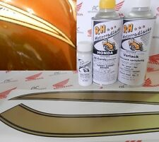 Honda CB 750 Four K1 Paint Kit Garnet Brown Brau+ Decal Fuel Tank Stripes Gold