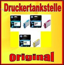 3 Cartridges hp 364c M Y Photosmart D5460 B010a B109a B109d B110a B110c B110e