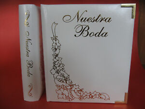 Nuestra Boda Leather DVD Album - Double DVD Event Case - NEW