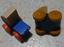VEB VERO 2 Stück Kinderwagen Puppenstuben-Zubehör Puppenwagen (DDR) Nachlass
