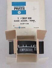 1968 Dodge Polara Monaco NOS MOPAR Temperature Gauge