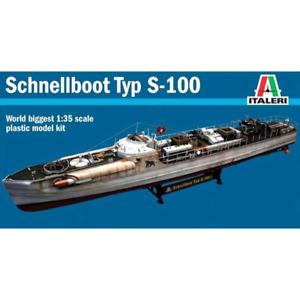 Italeri 5603 1/35 Schnellboot S-100 Plastic Model Kit Brand New