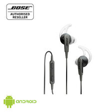 Bose SoundSport In-Ear Headphones - Black - Made for Samsung/Android