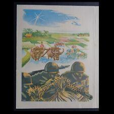 Indochine, Carte de Vœux de 1952, du Général de Lattre de Tassigny