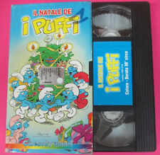VHS film IL NATALE DEI PUFFI animazione CINEHOLLYWOODPBR4178 (F107*) no dvd