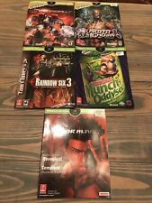 Prima Guides Xbox 5-Lot: Oddworld Munch, DOA3, Rainbow Six 3, Kakuto, More!