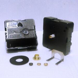 New Replacement UTS Quartz German Euroshaft Clock movement mechanism 10mm shaft