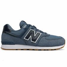 Chaussures bleus New Balance pour garçon, cuir