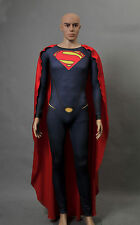 Superman Man of Steel Licensed Adult Men's Jumpsuit Cosplay Costume Tailored