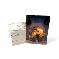 MICHAEL KALUTA SERIES 2 1995 FPG COMPLETE BASE CARD SET OF 90 FA
