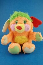 "Vintage Soft Toy Plush POPPLES - PUZZLE Mattel Approx 10"" Orange"