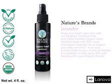 Organic Hand Spray Natural Brand Natures Brand