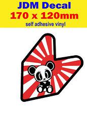 panda fun stickers decal euro dub Drift Honda jap sun jdm street race Civic