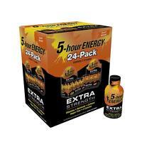 5-Hour Energy Shot, Extra Strength Peach Mango (1.93 fl. oz. 24 ct)