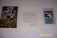 1966 BALTIMORE COLTS Yearbook MEDIA GUIDE Yearbook JOHNNY UNITAS Schedule Bonus