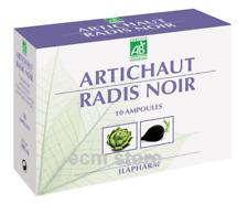 ILAPHARM Artichaut radis noir bio detox draineur 10 Ampoules complément /U12