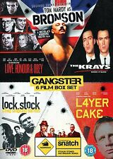 BRITISH GANGSTERS COLLECTION 6 MOVIE DVD BOX SET ( BRAND NEW & SEALED )