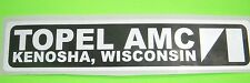 AMC Topel dealership emblem Kenosha AMX Javelin Jeep Hornet Eagle BARGAIN