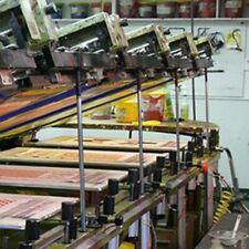 Silk Screen Printing Press 1995sias Comec Automatic 8 Color 12 Pallet