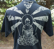 Black Prince by Belstaff Free Tibet Kurzarm T Shirt EU Gr. 40 NEU AUF SEE MUNITIONSKISTE