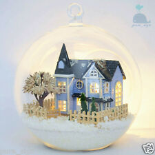 DIY Handcraft Miniature Project Kit Dolls House Light The Angel's Magic Town