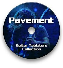 PAVEMENT ROCK GUITAR TAB TABLATURE SONG BOOK ANTHOLOGY SOFTWARE CD