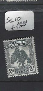 GILBERT & ELLICE IS (P0307B)  TREE  2D  SG 10   MNH