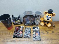 Five Nights At Freddys Gamestop Exclusive Lot Of Items 2016